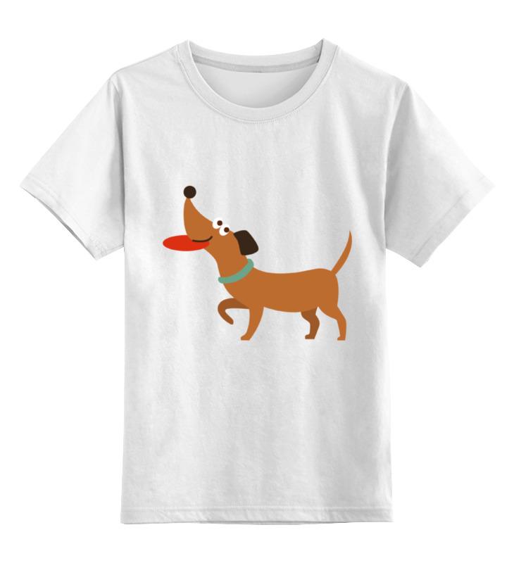 Детская футболка классическая унисекс Printio Умный щенок детская футболка классическая унисекс printio рога
