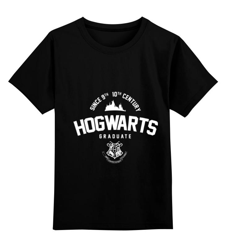 Детская футболка классическая унисекс Printio Hogwarts graduate by design ministry
