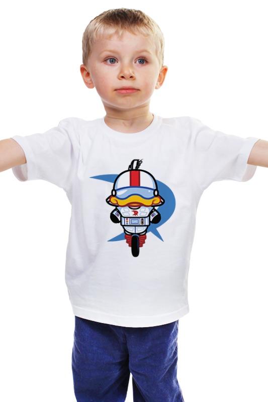 Детская футболка классическая унисекс Printio Суперкряк (утиные истории) роботизированный комплекс локомат цены