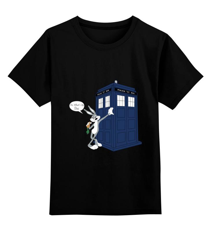 Детская футболка классическая унисекс Printio What's up, doc? детская футболка классическая унисекс printio emmet doc