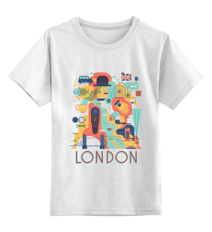 Детская футболка классическая унисекс Printio Лондон как дешевые билеты в лондон