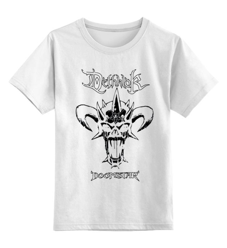 Детская футболка классическая унисекс Printio Dethklok band лонгслив printio dethklok band