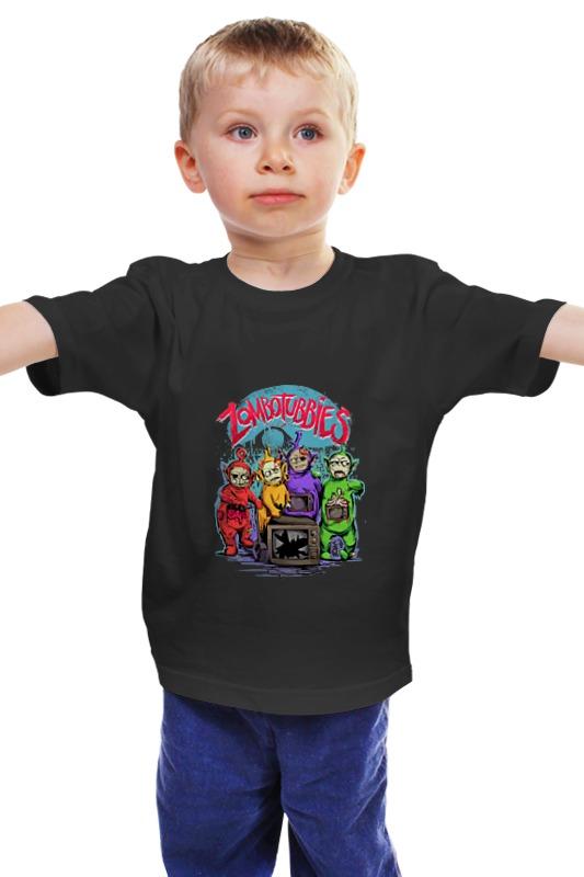 Детская футболка классическая унисекс Printio Зомбопузики детская футболка классическая унисекс printio мачете