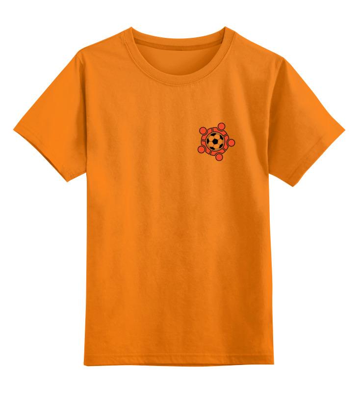 Детская футболка классическая унисекс Printio Фк