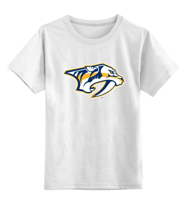 Детская футболка классическая унисекс Printio Nashville predators / nhl usa