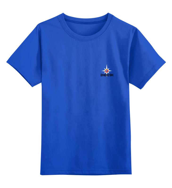 Детская футболка классическая унисекс Printio Мчс россии -  emercom торт printio мчс россии