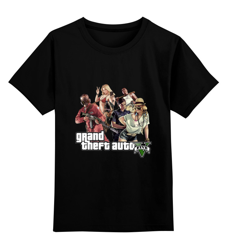 Детская футболка классическая унисекс Printio Gta футболка классическая printio gta 5 poster