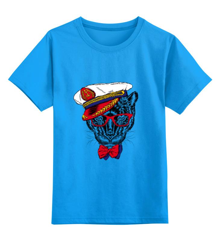 Детская футболка классическая унисекс Printio Кот - мореход свитшот унисекс хлопковый printio кот мореход
