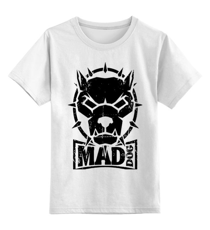 Детская футболка классическая унисекс Printio Mad dog детская футболка классическая унисекс printio gta 5 dog