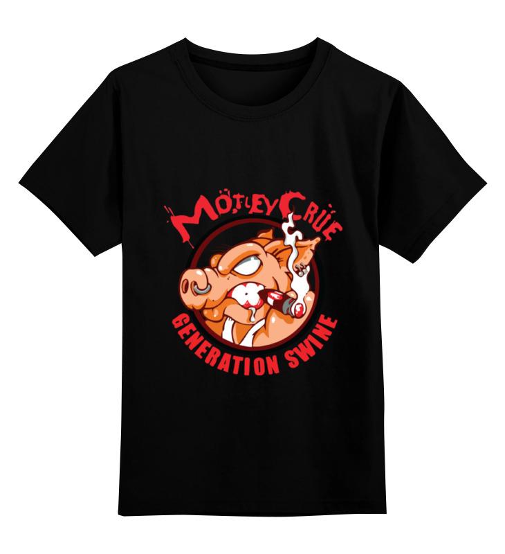Детская футболка классическая унисекс Printio Motley crue mech ideas demolition crue dc03p piston