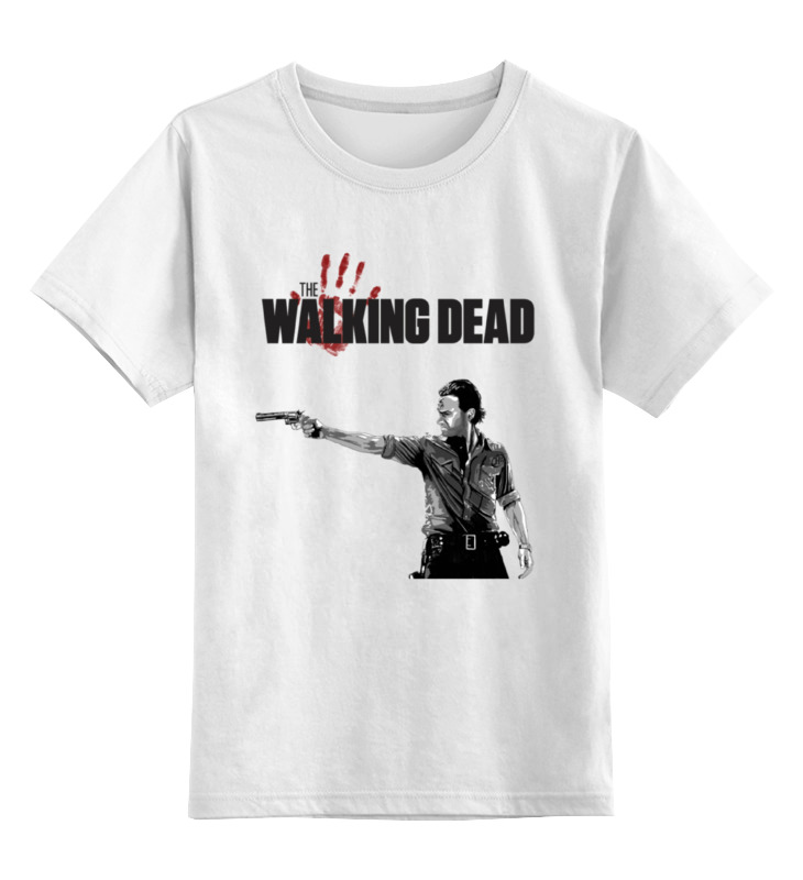 Printio The walking dead детская футболка классическая унисекс printio the walking dad