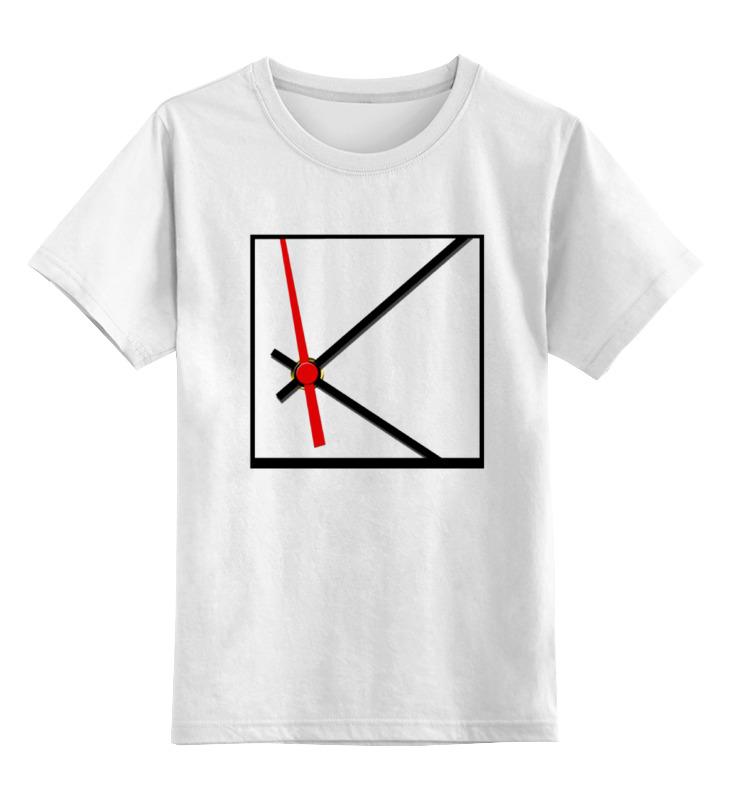 Детская футболка классическая унисекс Printio Слежу за временем бомбер printio kocyak я слежу за тобой