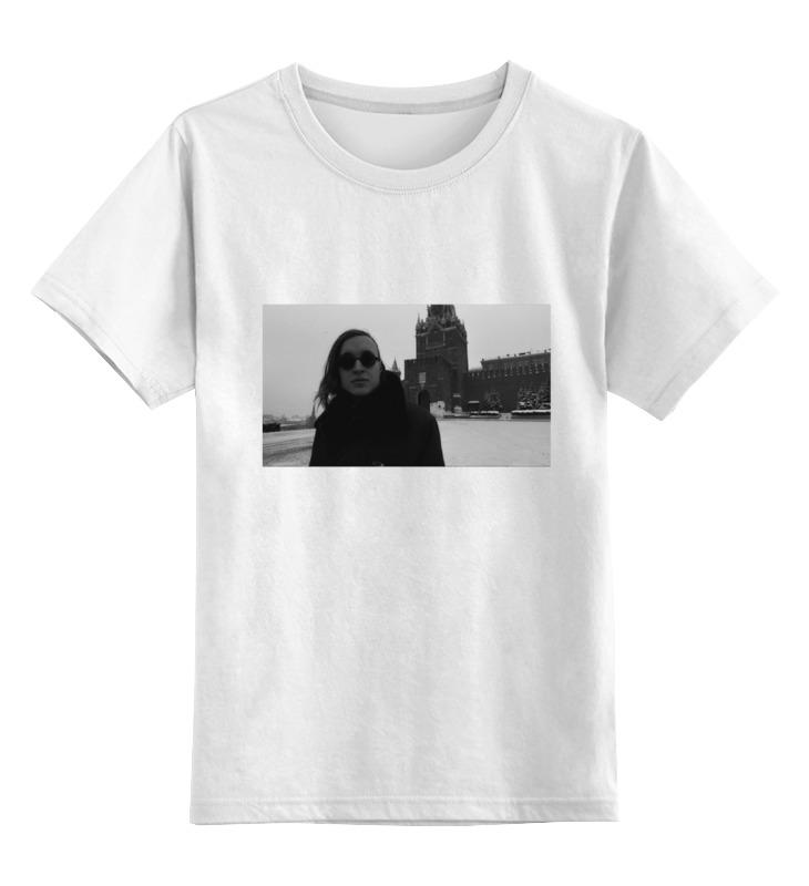 Детская футболка классическая унисекс Printio Егор летов детская футболка классическая унисекс printio егор крид
