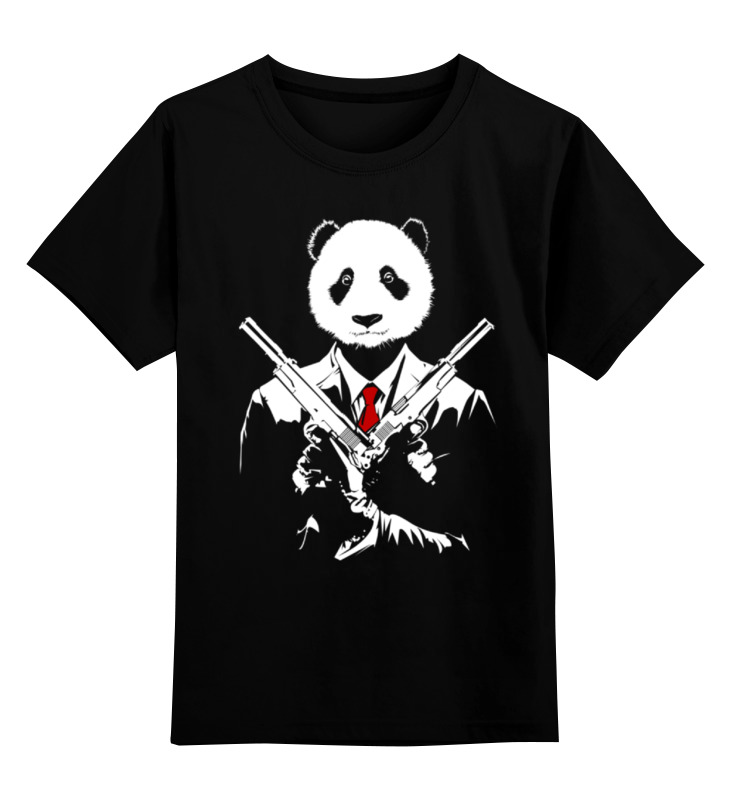 Детская футболка классическая унисекс Printio Панда киллер детская футболка классическая унисекс printio король панда