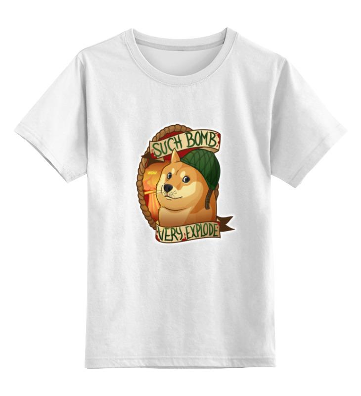 Детская футболка классическая унисекс Printio such bomb very explode bimast bomb premium купить челябинск