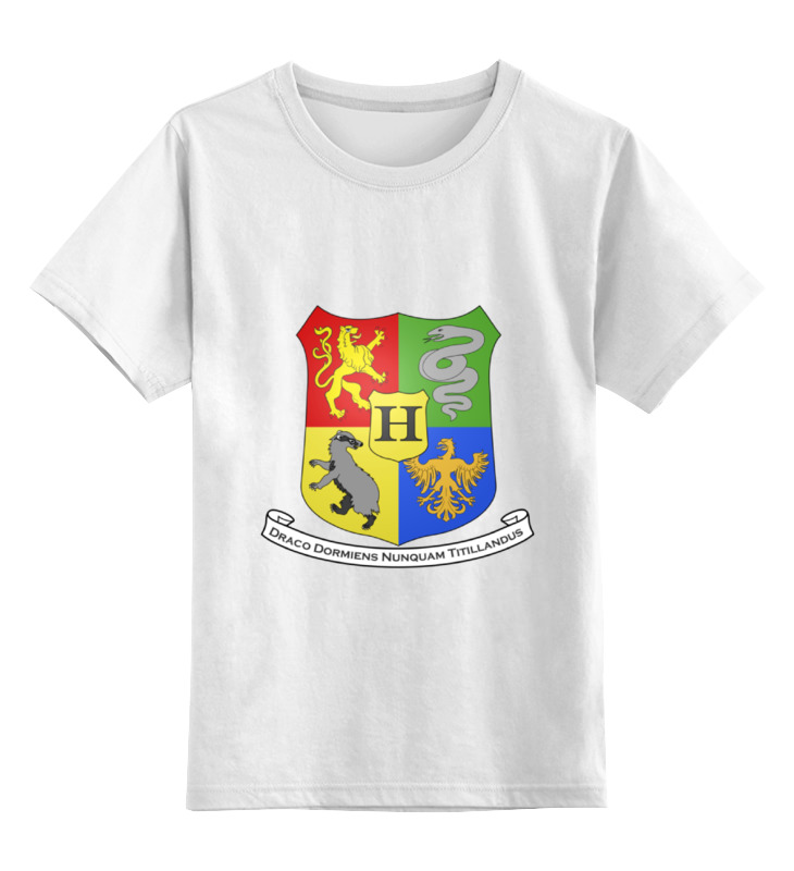 Детская футболка классическая унисекс Printio Harry potter 2017 harry potter hogwarts magical wand 36cm action figures pvc brinquedos collection figures toys with retail box