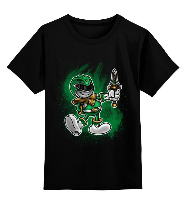 Детская футболка классическая унисекс Printio Зелёный рейнджер детская футболка классическая унисекс printio желтый рейнджер
