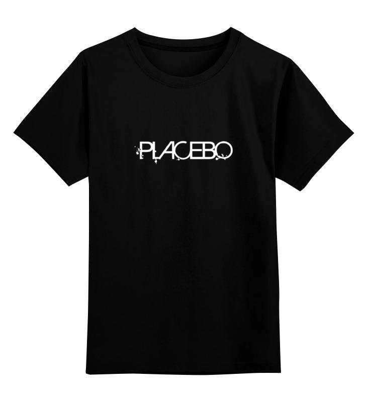 Детская футболка классическая унисекс Printio Placebo майка классическая printio placebo