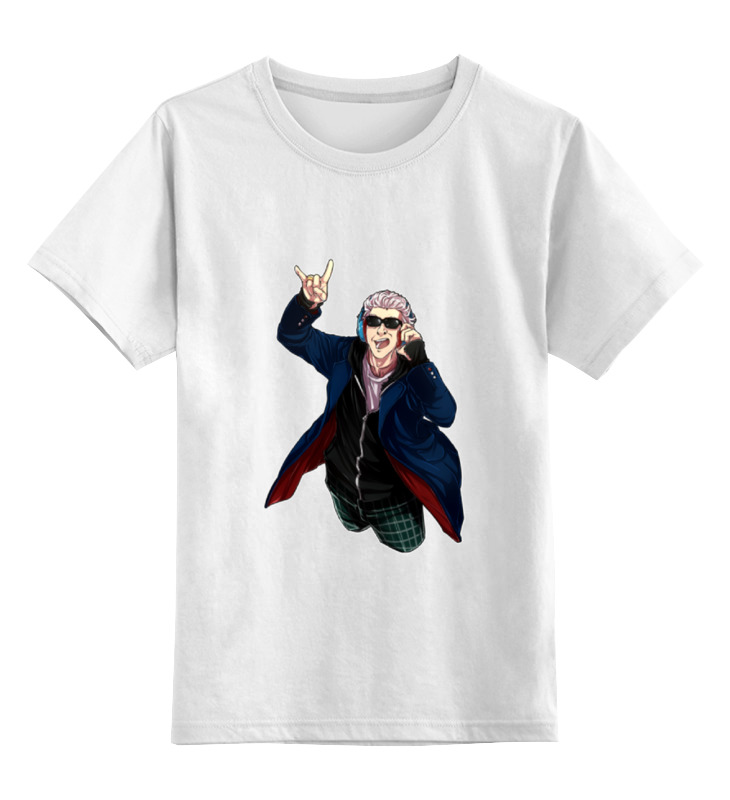 Детская футболка классическая унисекс Printio Доктор диско доктор кофер в саратове