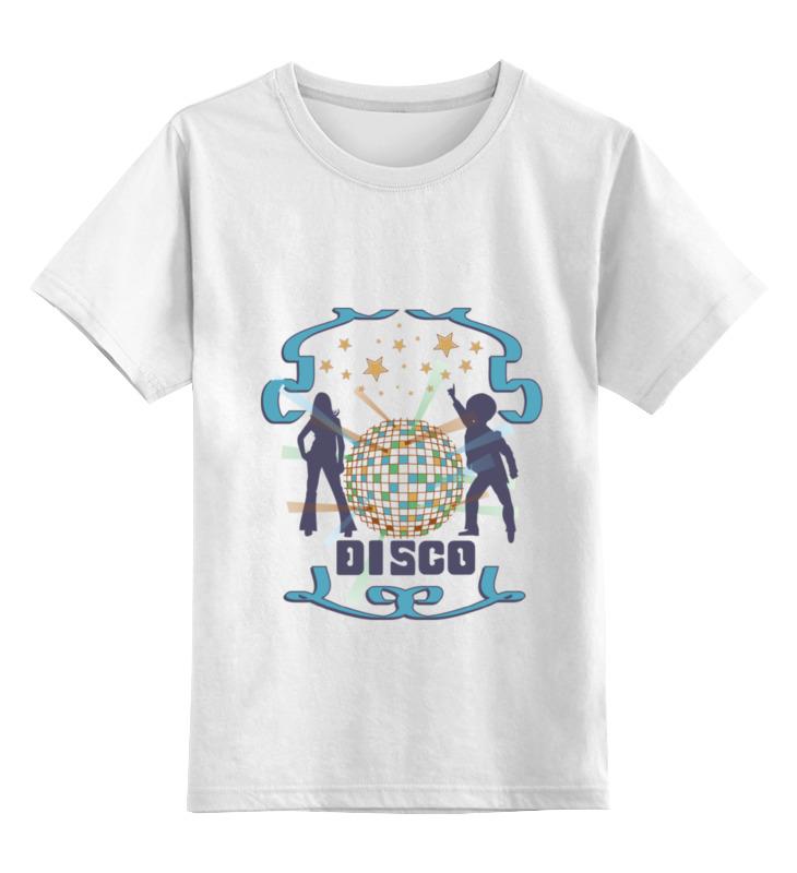 Детская футболка классическая унисекс Printio Диско dreamgirl светящееся диско платье