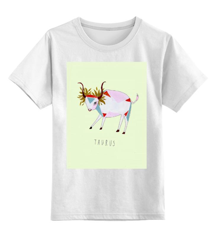 Детская футболка классическая унисекс Printio Телец vermeiren katy