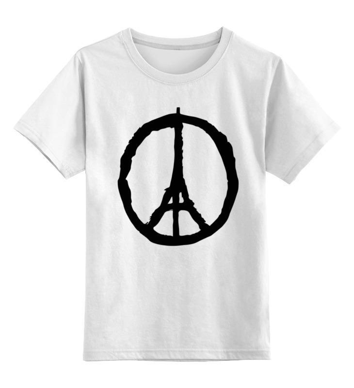Детская футболка классическая унисекс Printio Мир парижу (peace for paris) автомобильный держатель remax car holder rm c17 черный