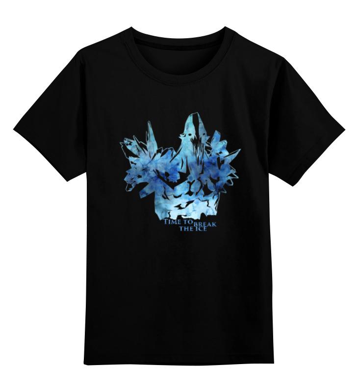 Детская футболка классическая унисекс Printio Dota 2 ancient apparation (with text) футболка классическая printio dota 2 templar assassin
