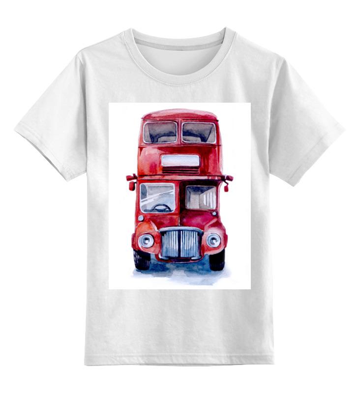 Детская футболка классическая унисекс Printio London bus майка классическая printio london
