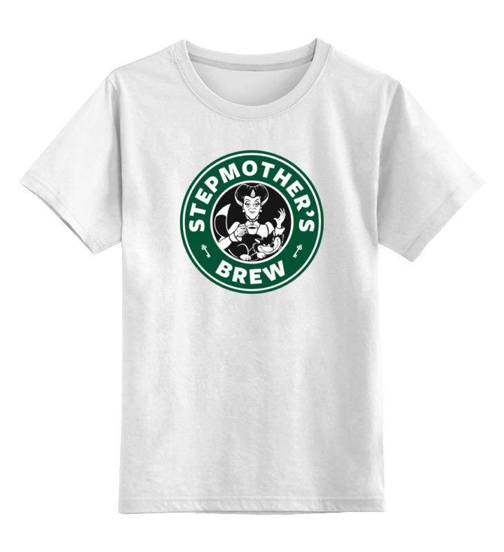 Детская футболка классическая унисекс Printio Злая мачеха (золушка) детская футболка классическая унисекс printio злая пчелка
