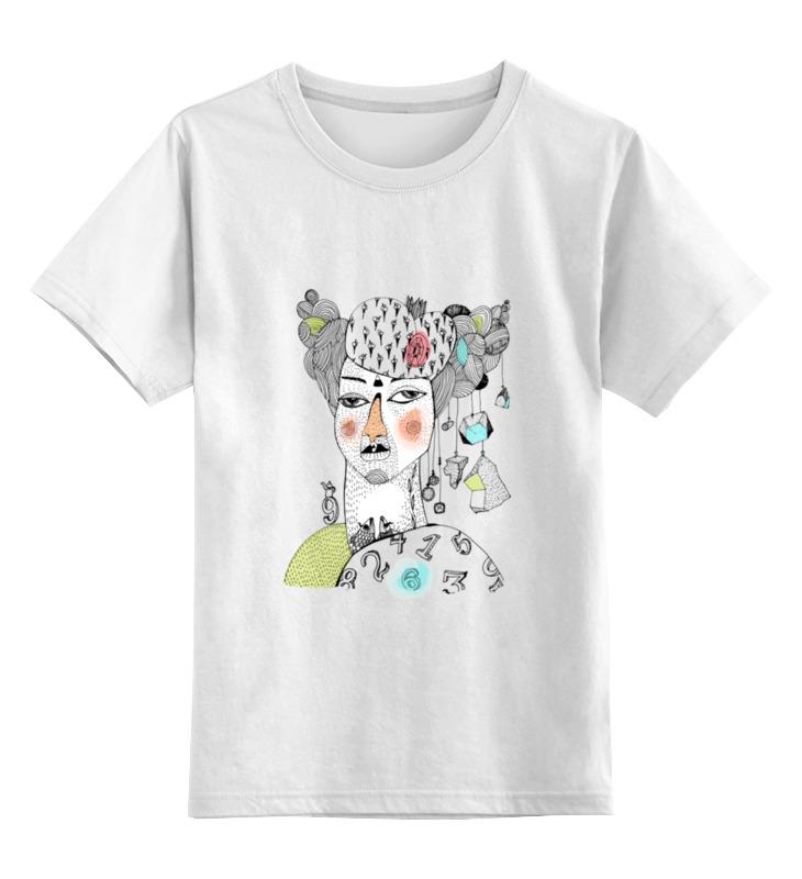 Детская футболка классическая унисекс Printio Королева чудаков