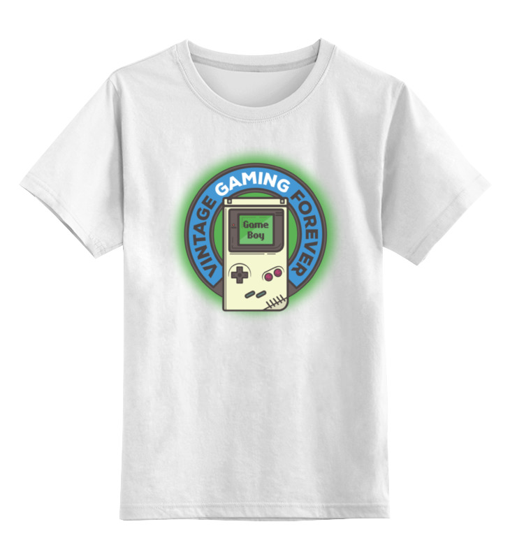 Детская футболка классическая унисекс Printio Gameboy [50set lot] for nintendo gameboy series game cartridge housing shell replacing cover case for gb gbc gba sp