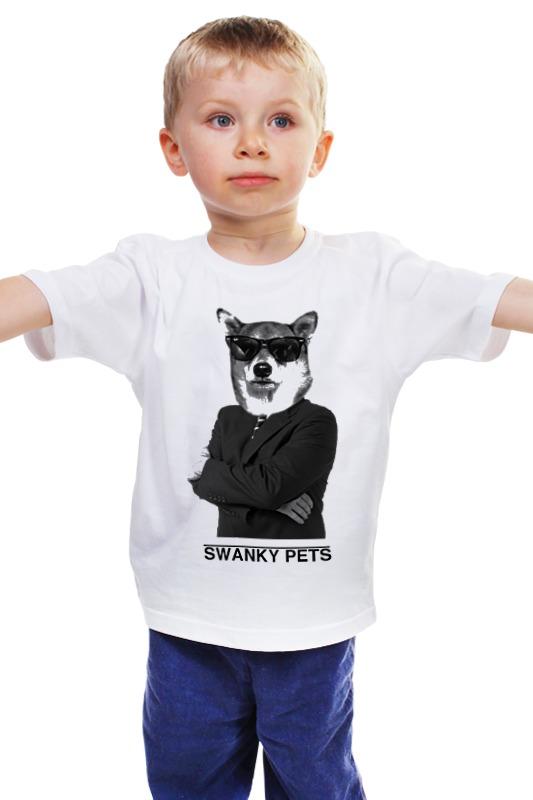 Детская футболка классическая унисекс Printio Шарик из коллекции swanky pets футболка классическая printio шарик из коллекции swanky pets