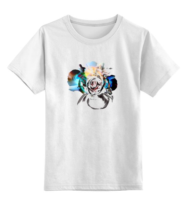 Детская футболка классическая унисекс Printio Признание любви цена