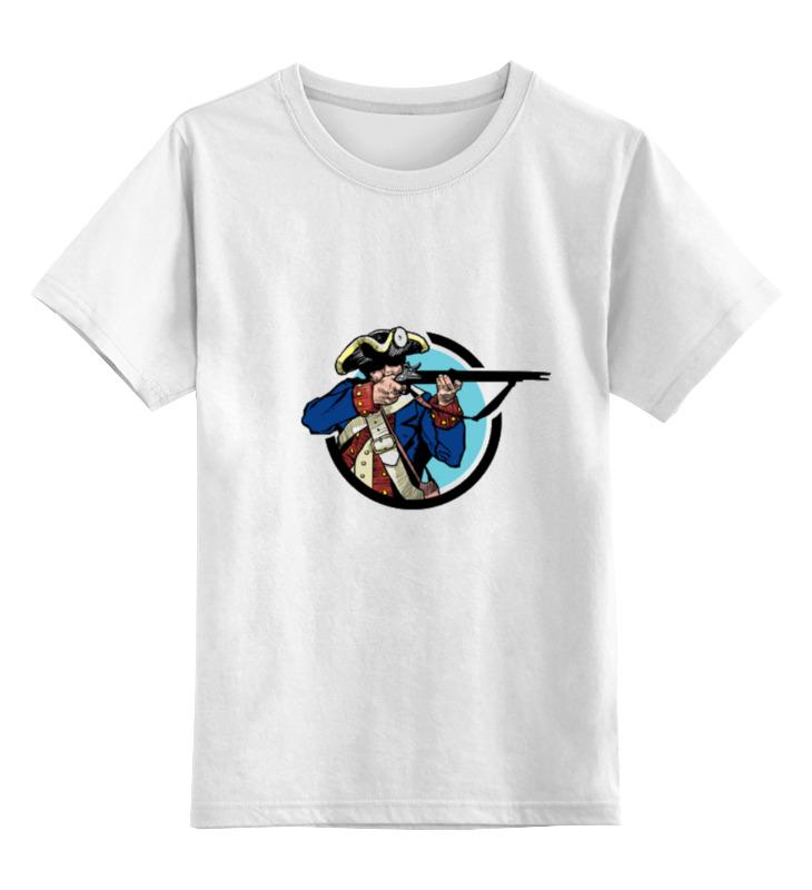 Детская футболка классическая унисекс Printio Солдат детская футболка классическая унисекс printio неизвестный солдат