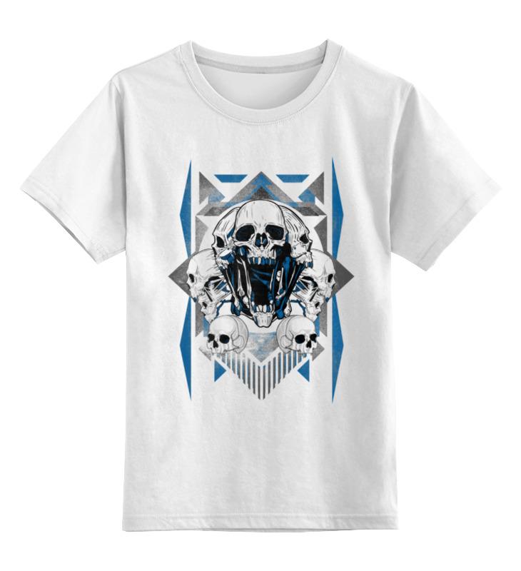 Детская футболка классическая унисекс Printio Черепушки сувенир свеча черепушки orient cl1303 usb