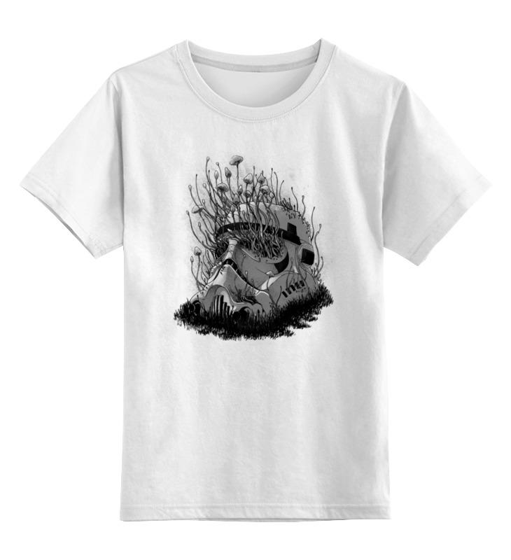 Детская футболка классическая унисекс Printio Шлем штурмовика детская футболка классическая унисекс printio мачете