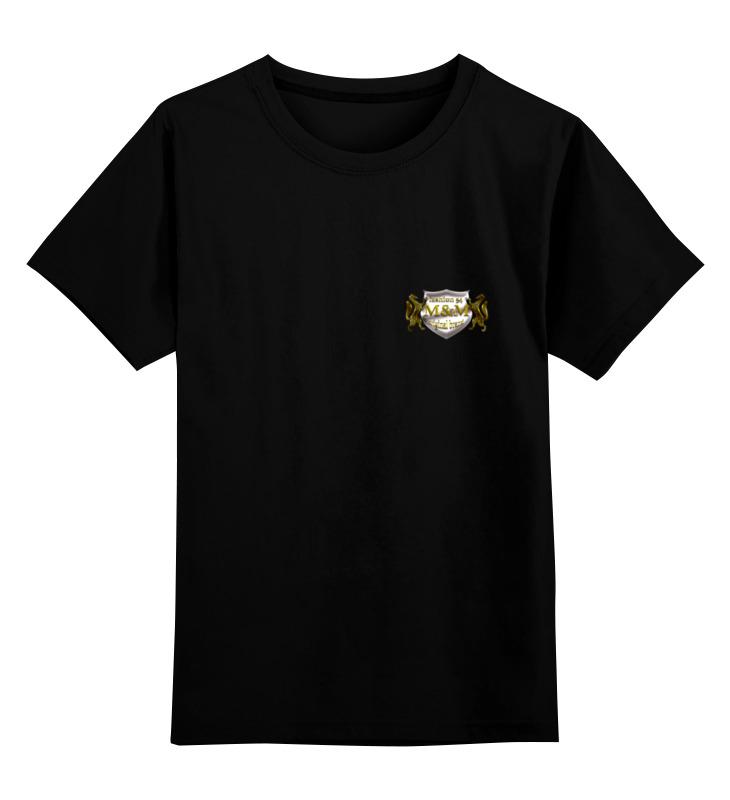 Детская футболка классическая унисекс Printio M&m fashion boney m boney m boonoonoonoos