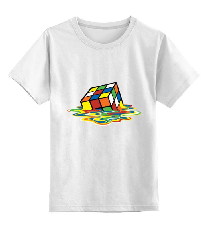 Детская футболка классическая унисекс Printio Кубик рубика детская футболка классическая унисекс printio мачете