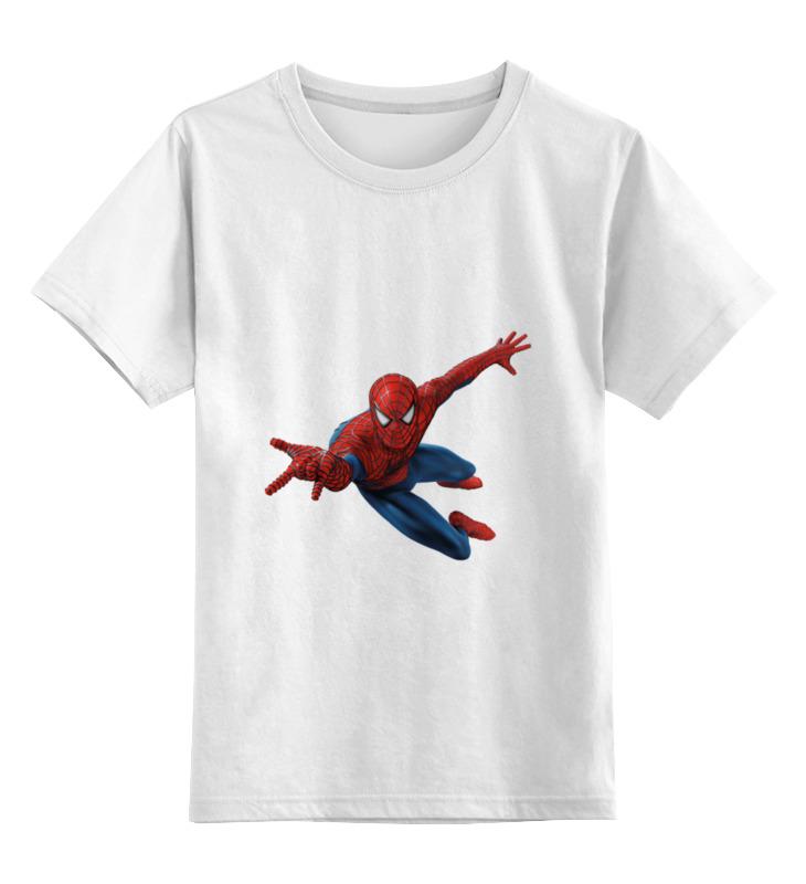 Детская футболка классическая унисекс Printio Человек паук