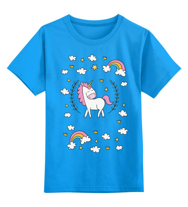 Детская футболка классическая унисекс Printio Единорог футболка унисекс
