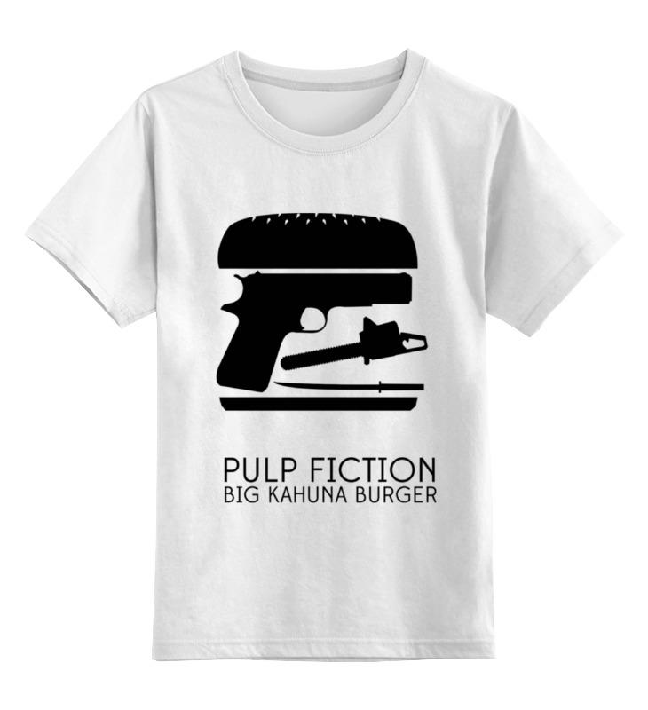 Детская футболка классическая унисекс Printio Криминальное чтиво (pulp fiction) кружка printio криминальное чтиво pulp fiction