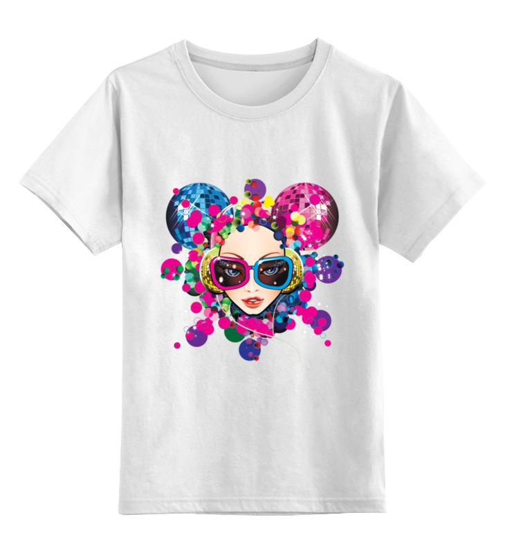 Детская футболка классическая унисекс Printio Дискотека