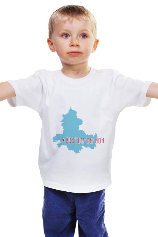 Детская футболка классическая унисекс Printio Ростовская область. ростов-на-дону акцент новый в ростове на дону