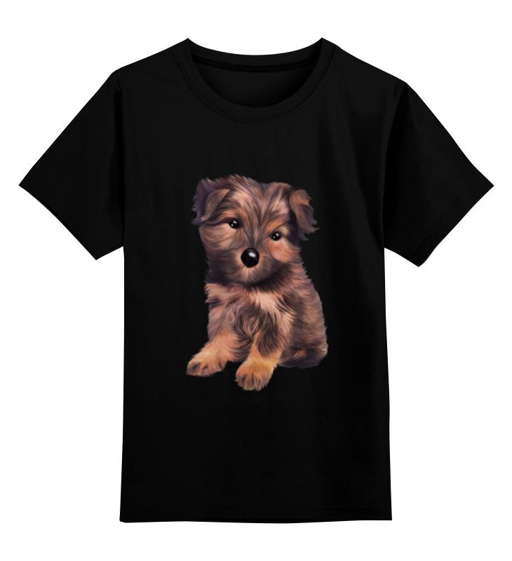 Детская футболка классическая унисекс Printio Йоркширский терьер попона для собак тузик теплая 1 йорк той терьер полиэстер 30 см