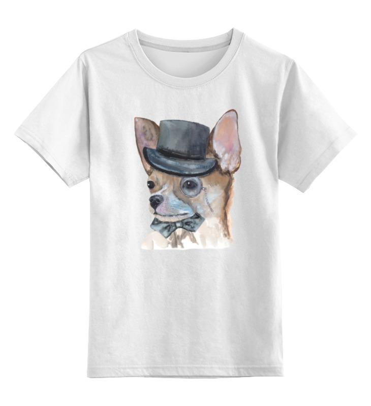 Детская футболка классическая унисекс Printio Джентльмен детская футболка классическая унисекс printio йоркширский терьер
