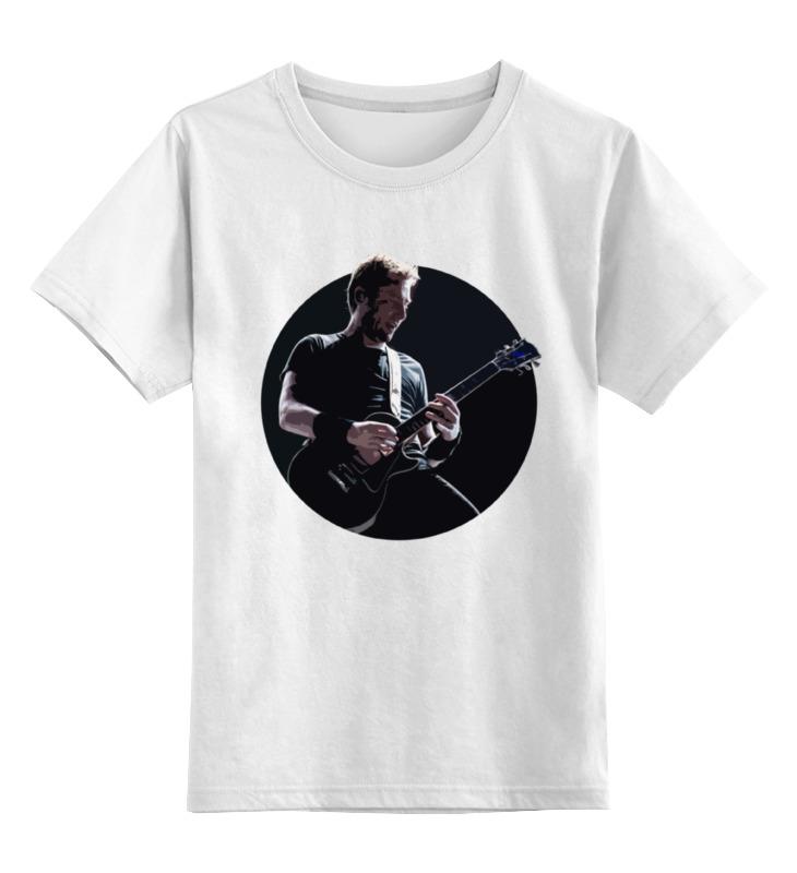 Детская футболка классическая унисекс Printio Nickelback
