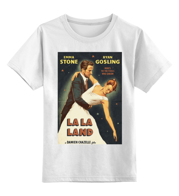 Детская футболка классическая унисекс Printio Ла-ла ленд / la la land ботинки la grandezza la grandezza la051awuzp39