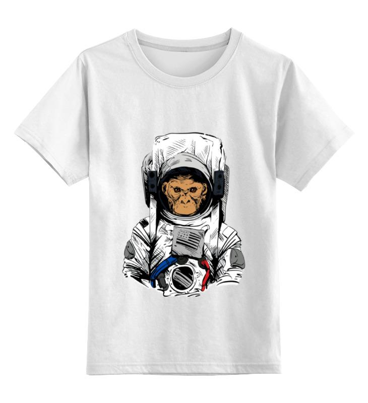 Printio Обезьяна космонавт детская футболка классическая унисекс printio обезьяна