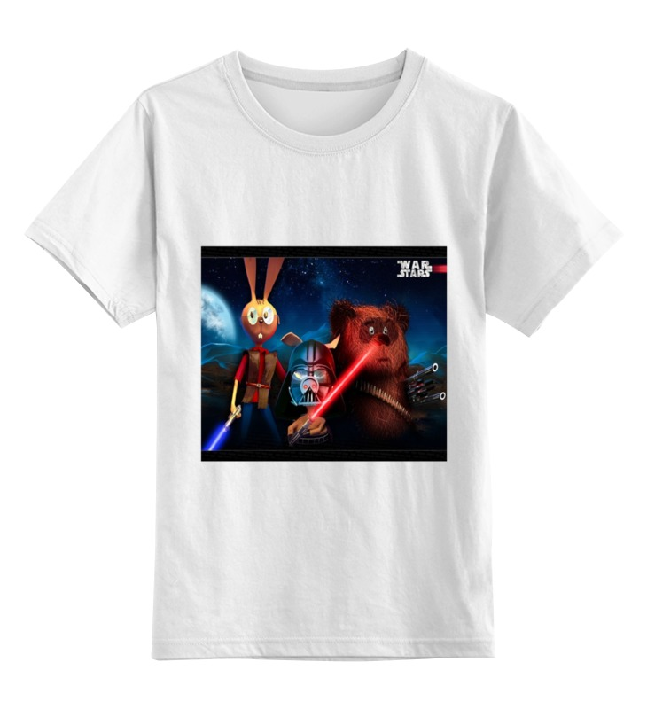 Детская футболка классическая унисекс Printio «звёздные во́йны» футболка франшиза отзывы