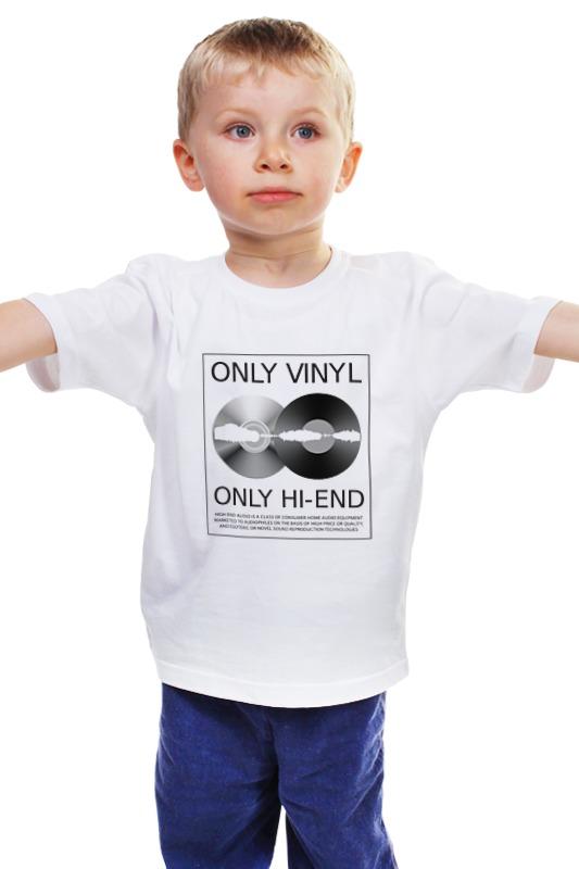Детская футболка классическая унисекс Printio Меломан пластинки виниловые mr oizo